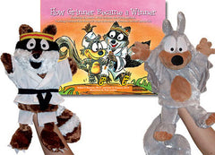 How Grinner Became a Winner SET (2 Puppets & Book)