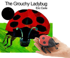 The Grouchy Ladybug - Book & Finger Puppet Set