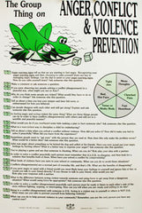 Group Discussion Poster & Game (Anger, Conflict & Violence Prevention)