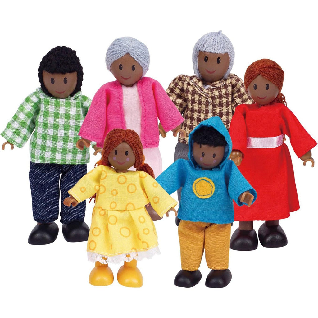 Happy Family - African-American (6-Figures)