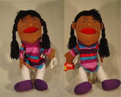 Happy/Unhappy Puppet (African-American)
