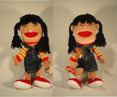 Happy/Unhappy Puppet (Hispanic)