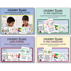Hidden Rules Card Games (Set of 4)