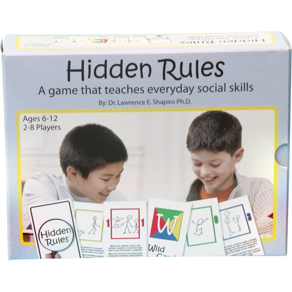 Hidden Rules in Social Situations Card Game