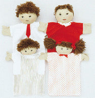 Machine-Washable Puppet Family (Hispanic)