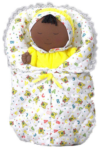 Hug N' Hold Baby Doll Puppet (African-American)
