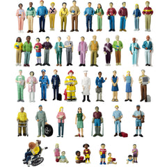 Pretend Play Human Figures Bundle (50-Figures)
