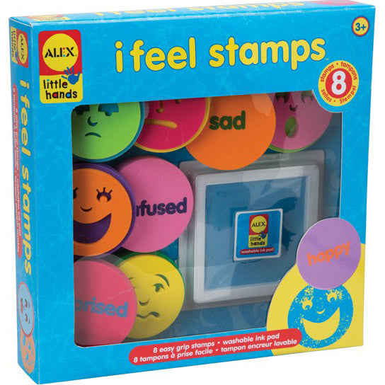 """I Feel"" Stamps (8 Stamps)"