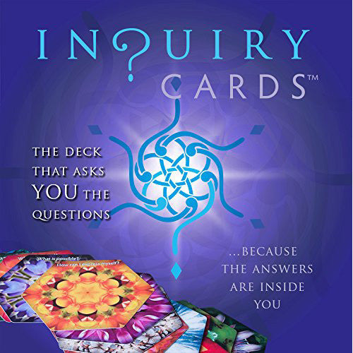 In?uiry Cards (Card Deck, Book & Stand)
