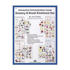 Interactive Communication Cards: Sensory & Social Emotional