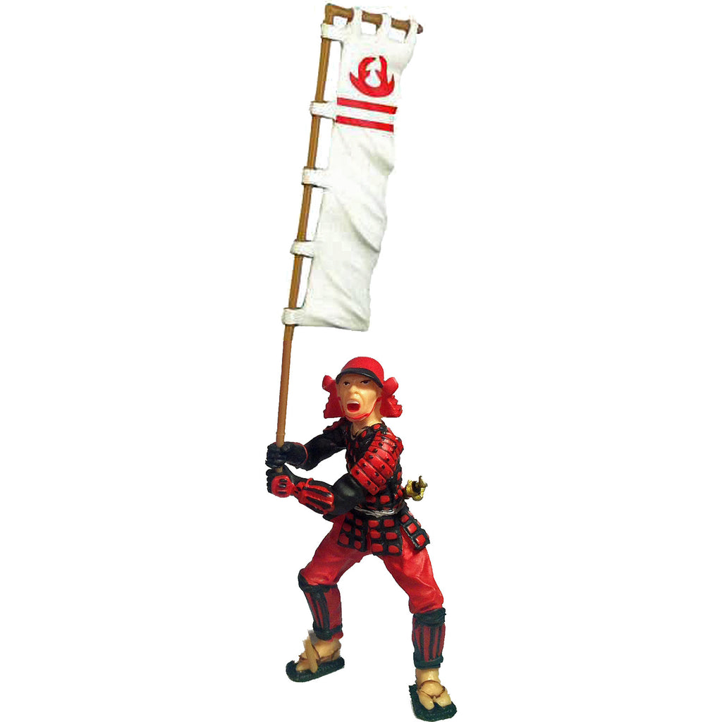 Japanese Samurai Flag Bearer