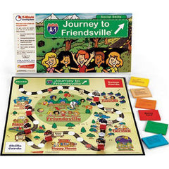Journey To Friendsville (Five - 15 Minute Counseling Games)