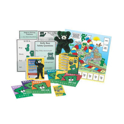 Kelly Bear C.A.R.E.S. Multi-Media Program (16 Lessons)