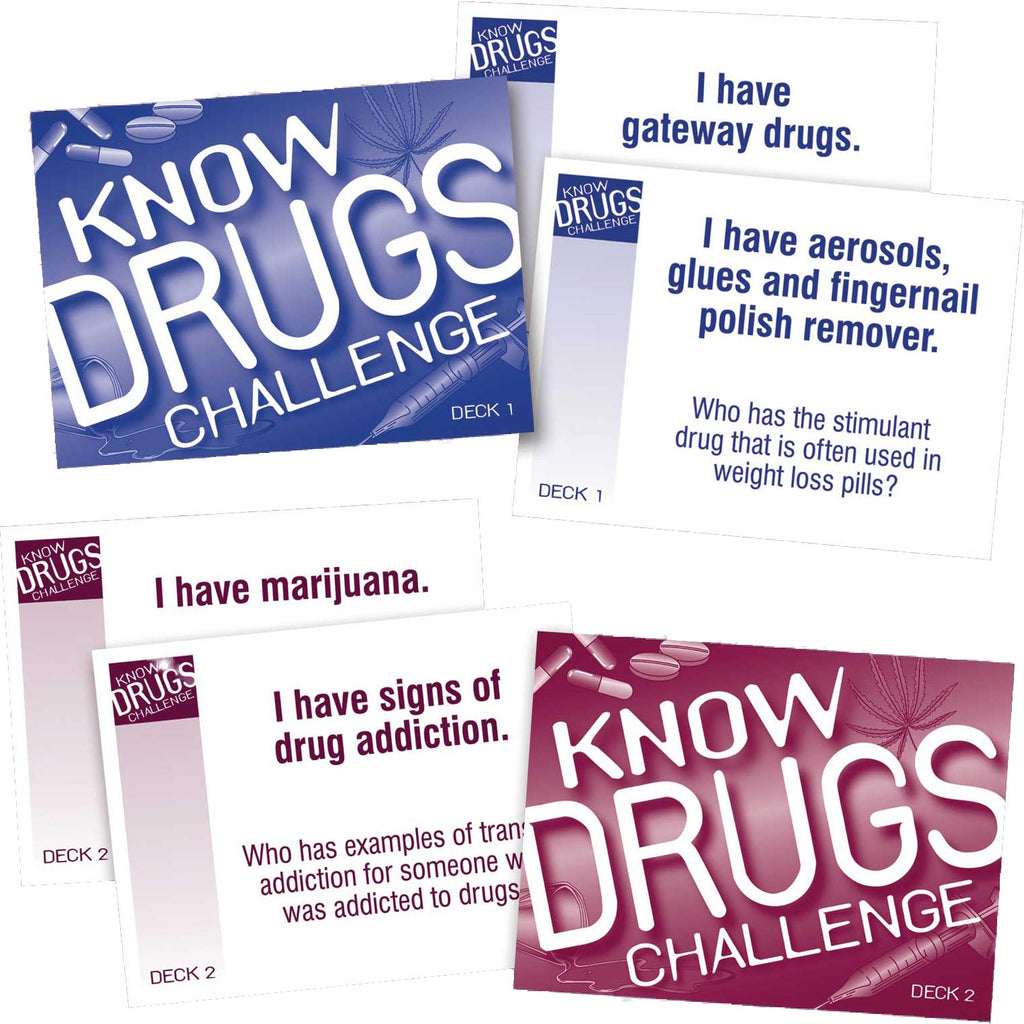 Know Drugs Challenge Card Game