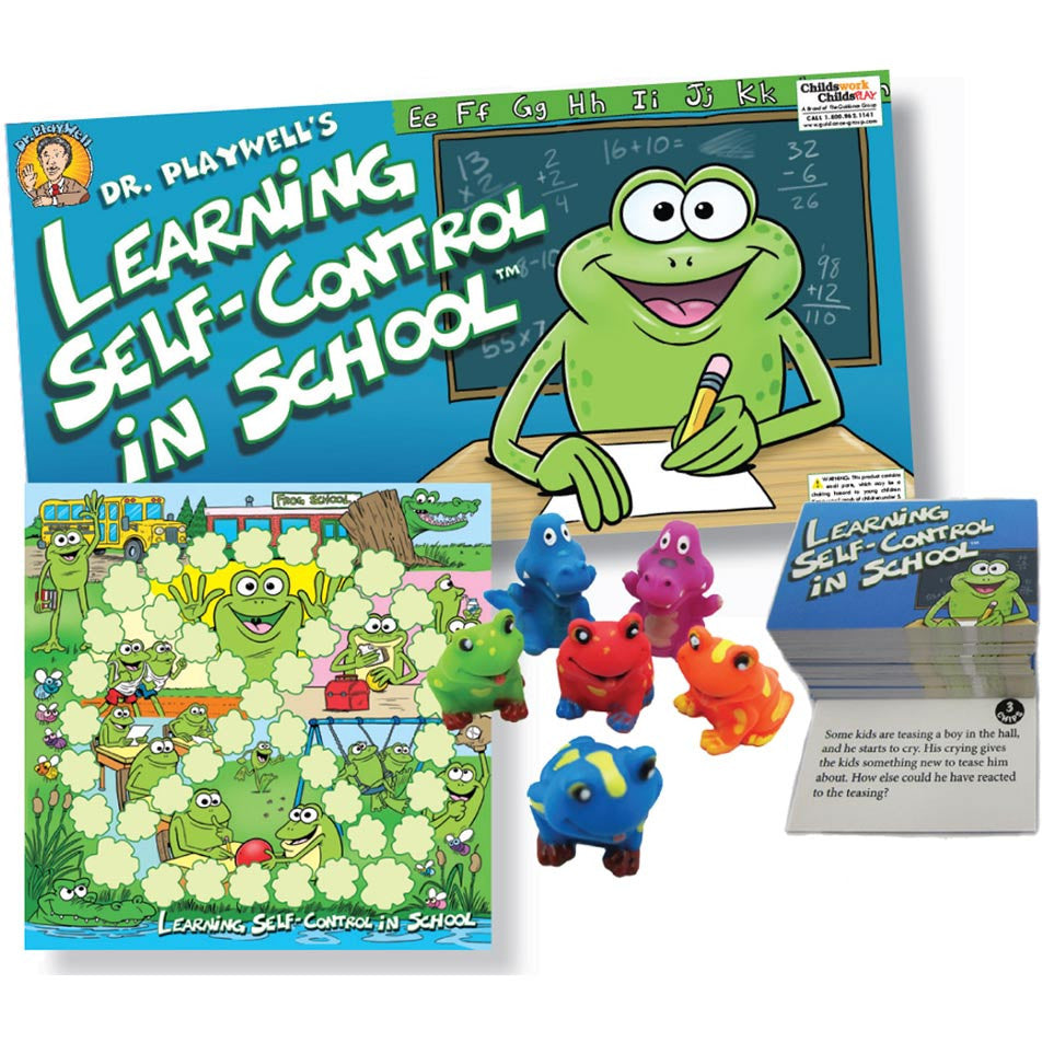 Learning Self-Control in School Board Game