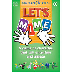 Let's Mime (Card Game)