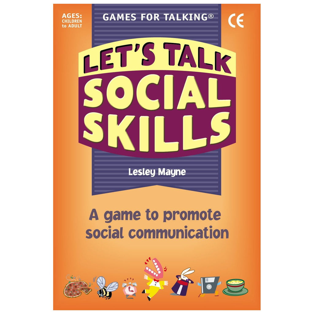 Let's Talk: Social Skills (Card Game)