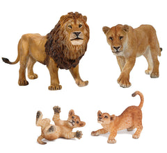 Miniature - Lion Family Set (4-Pieces)