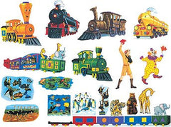 """The Little Engine That Could"" Flannel Board Set (22-Pieces)"
