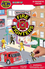 Magnetic Fire Fighters PlaySet
