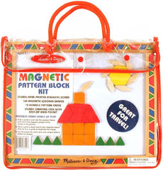 Magnetic Pattern Block Kit (w/ Carry Case)