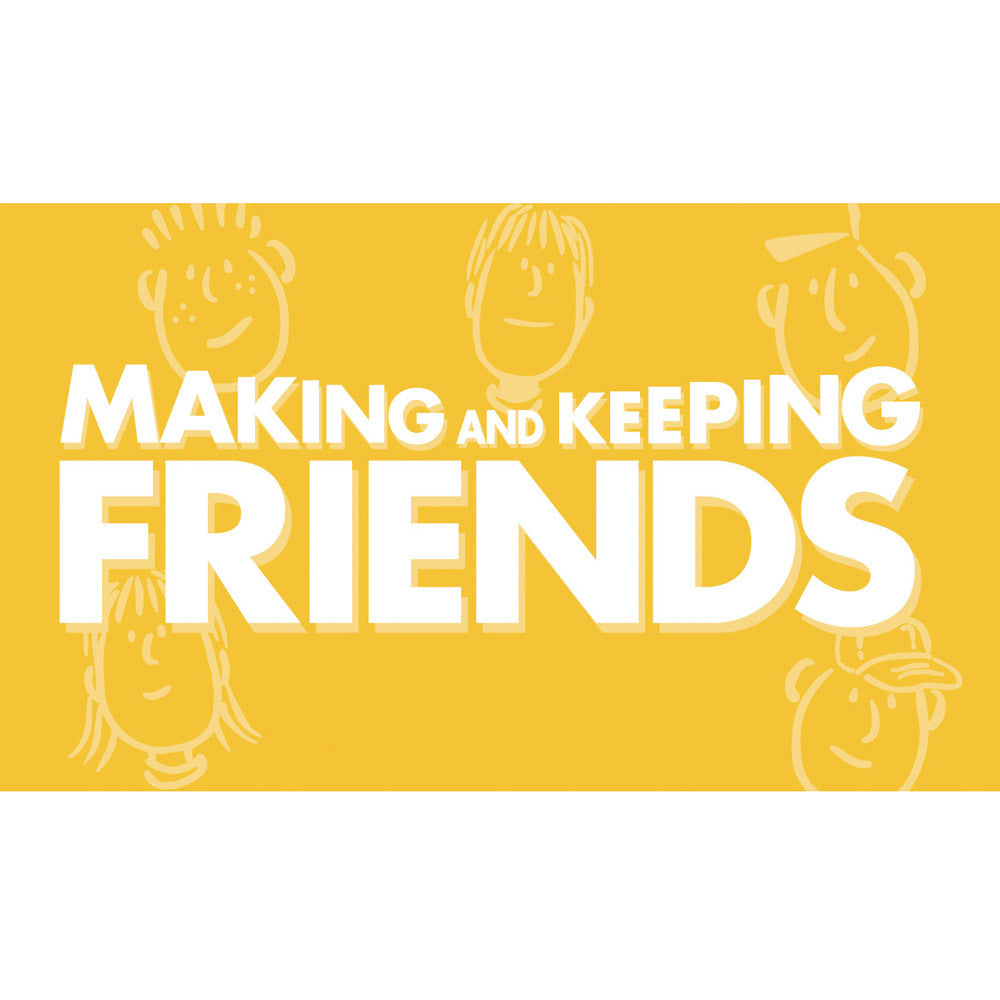 Making and Keeping Friends Cards (High School Version)