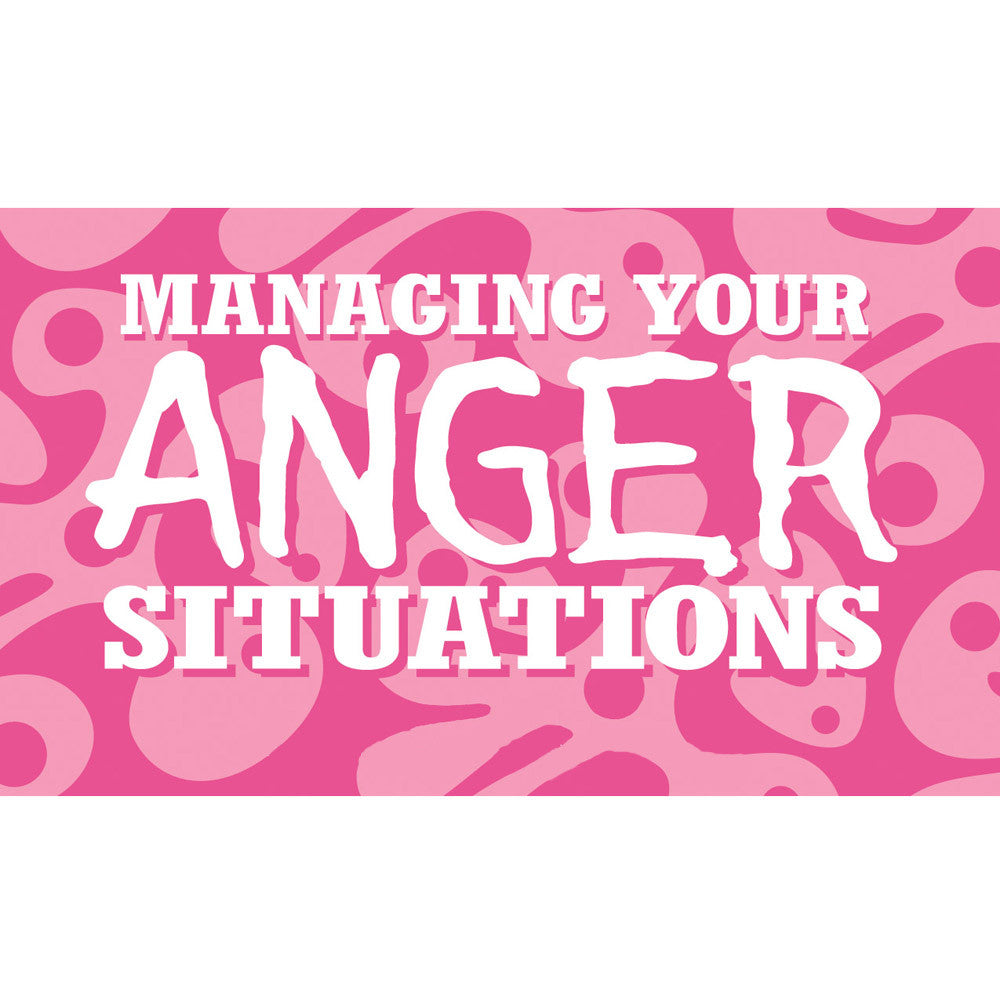 Managing Your Anger Situations Cards (High School Version)