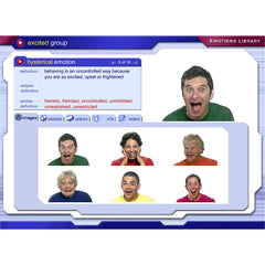 "Interactive Emotion (""Mind Reading"") Software"