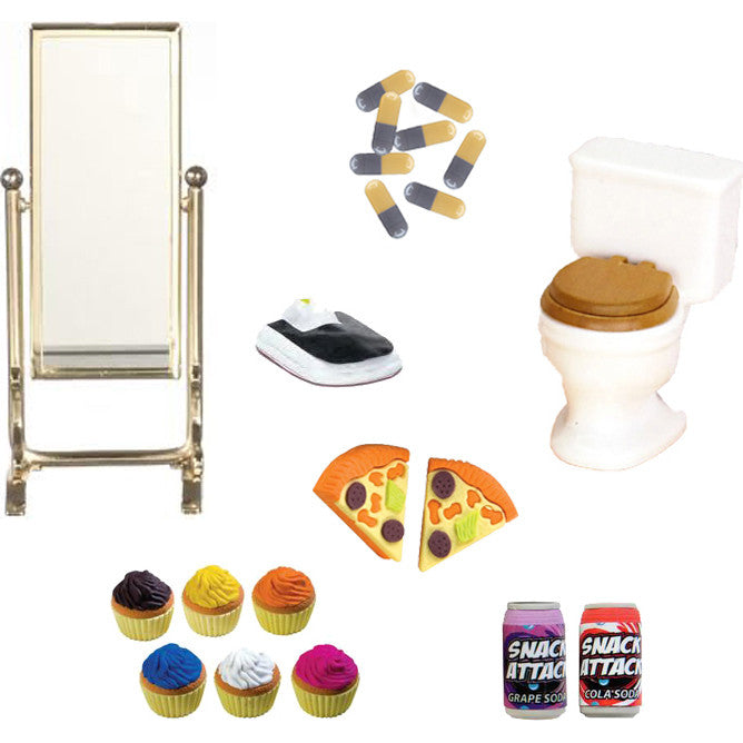 Miniature - Eating Disorders Set (21-Pieces)