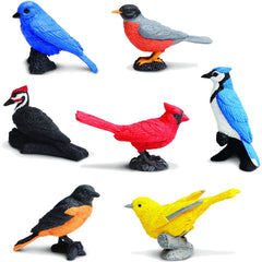 Miniature - Backyard Birds (7-Figures)