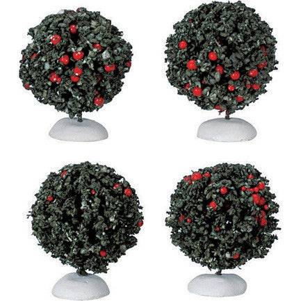 Miniature - Berry Bushes (Set of 4)