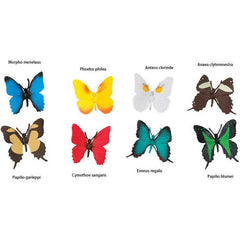 Miniature - Butterflies Set (8-Figures)