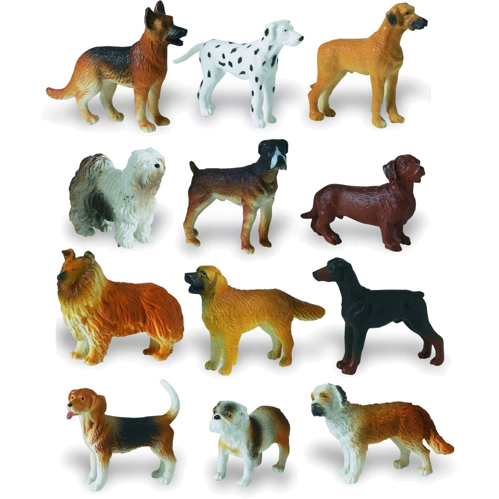 Miniature - Dogs Set (12-Pieces)