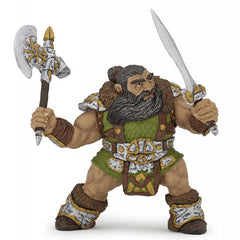 "Dwarf Warrior With Ax (3.5""H)"