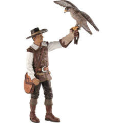 Falconer with Falcon (Replica)