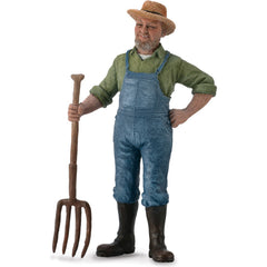'Redneck' Male Farmer Figure