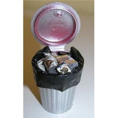 Miniature - Garbage Can W/ Trash