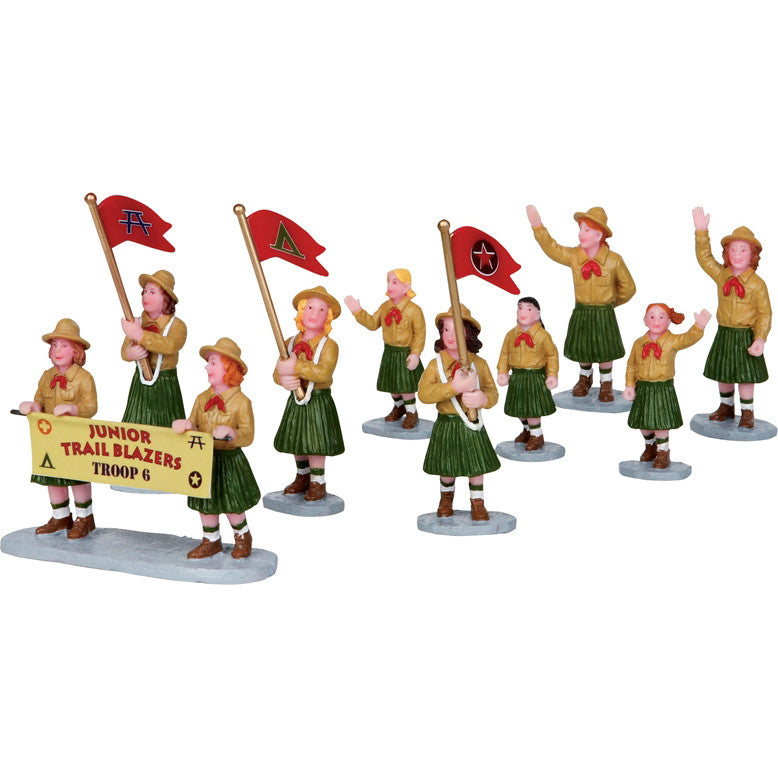 Miniature - Girl Scout Parade (9-Figures)