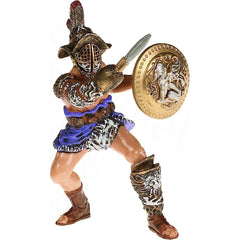 Roman Gladiator & Tiger (2 Figures)