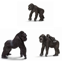 Miniature - Gorilla Family (3-Piece Set)