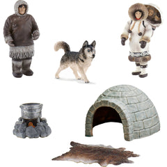Miniature - Inuit/ Eskimo Set (7-Figures)