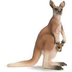 "Miniature - Red Kangaroo with ""Joey"""