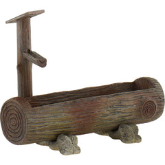 Log Water Fountain & Trough (Replica)