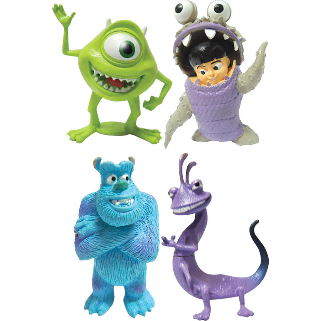 Miniature - Monsters, Inc. Set (4-Figures)