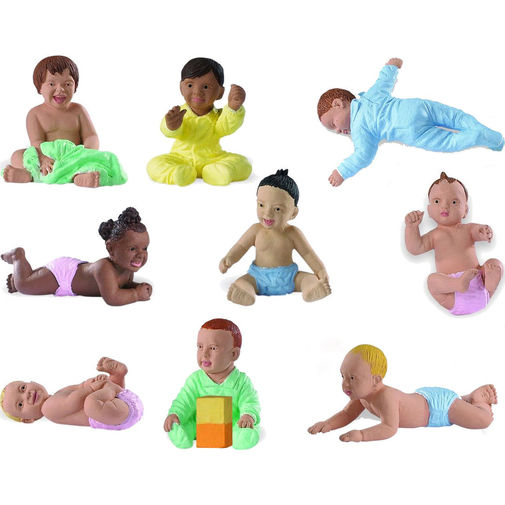 Multicultural Babies Collection (9 Figures)