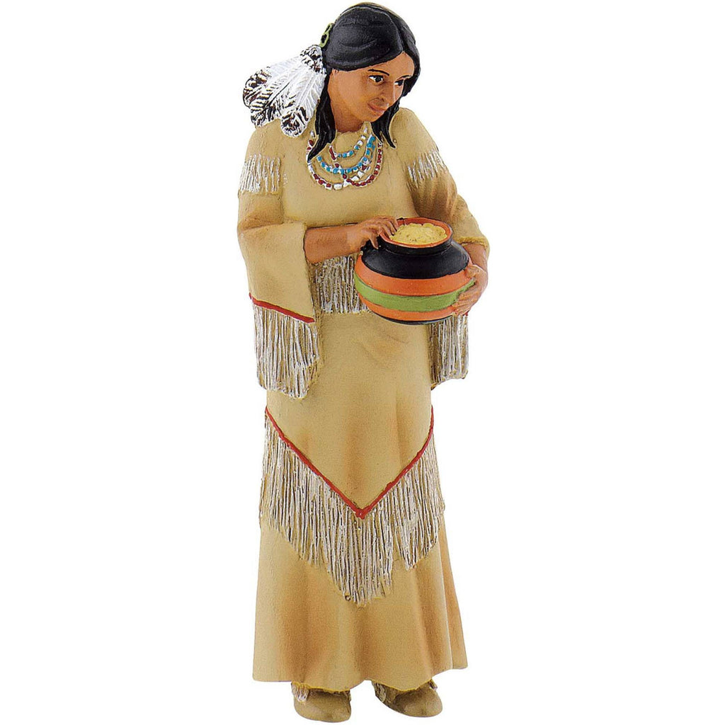 Miniature - Native American Woman
