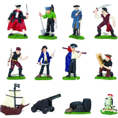 Miniature - Pirates Value Set (12-Figures)