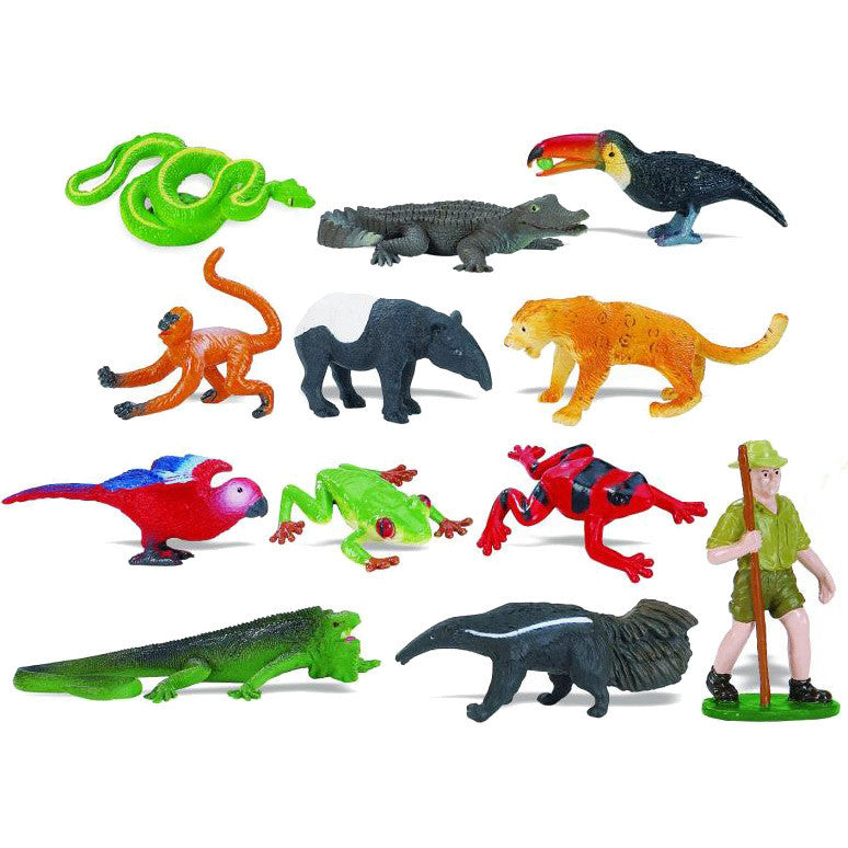 Miniature - Rainforest Set (12-Figures)