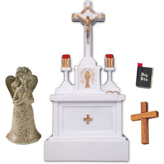 Miniature - Religious/ Christian Symbols (4-Piece Set)