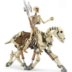 Miniature - Skeleton Rider and Horse (2-Figures)